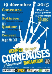 affiche CORNEMUSES 2015